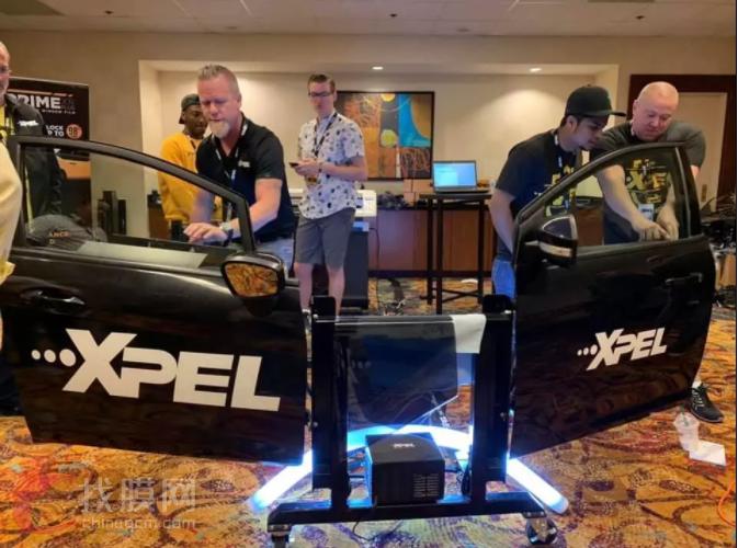 美国XPEL全球经销商会议,论漆面保护膜行业的中心